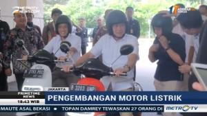 Menteri Jonan Harap Motor Listrik Bisa Kurangi Ketergantungan Impor BBM