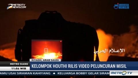 Houthi Rilis Video Penembakan Misil ke Bandara Riyadh