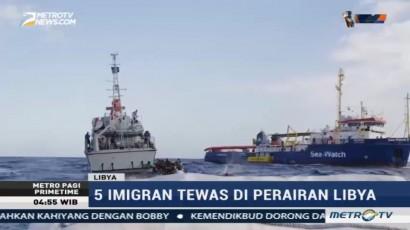 Lima Imigran Tewas di Perairan Mediterania