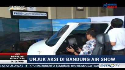 Menjajal Pesawat N219 di Bandung Air Show 2017