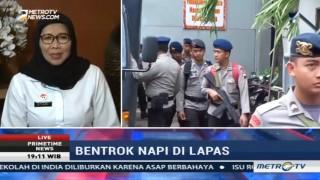 Usai Bentrok di Nusakambangan, Kemenkumham Sebar Napi Berisiko Tinggi ke Lapas Lain