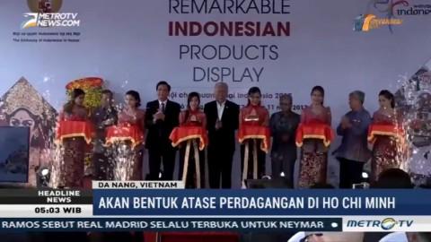 26 Perusahaan Ikuti Pameran Produk Indonesia di Vietnam