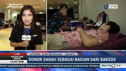 Donor Darah di HUT ke-17 Metro TV