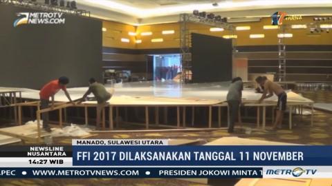 Persiapan FFI 2017 di Manado Terus Dikebut