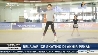 Belajar Ice Skating di Akhir Pekan