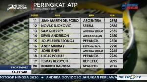 Andy Murray dan Novak Djokovic Terlempar dari Peringkat 10 Besar