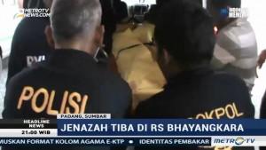 Jenazah Pembakar Mapolres Dhamasraya Tiba di RS Bhayangkara Padang