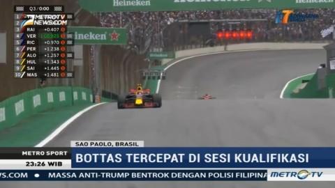 F1 GP Brasil, Valtteri Bottas Raih Pole Position