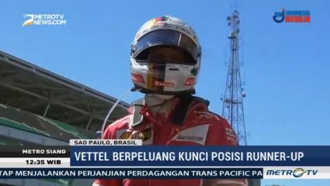 Sebastian Vettel Juara F1 GP Brasil