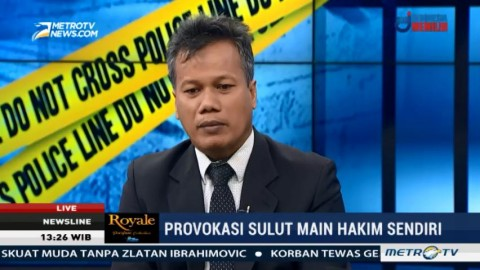 Provokasi Sulut Main Hakim Sendiri (1)