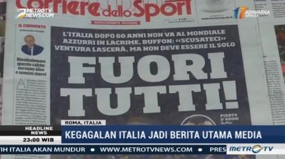 Reaksi Publik atas Kegagalan Italia Lolos ke Piala Dunia