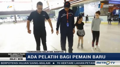 Serunya Belajar Ice Skating