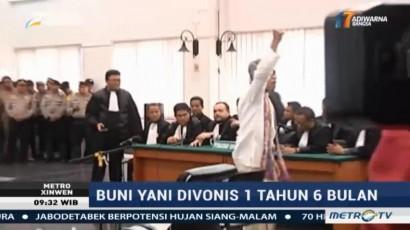 Divonis 1,5 Tahun Penjara, Buni Yani Ajukan Banding
