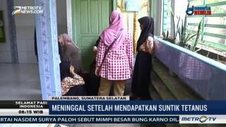 Siswi SD di Palembang Meninggal Usai Diimunisasi