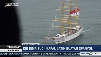 KRI Bima Suci Kapal Latih Terbaru TNI AL