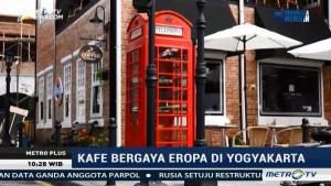 Kafe Bergaya Eropa di Yogyakarta