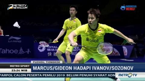 Kevin/Marcus ke Semifinal Tiongkok Terbuka, Owi/Butet Terhenti