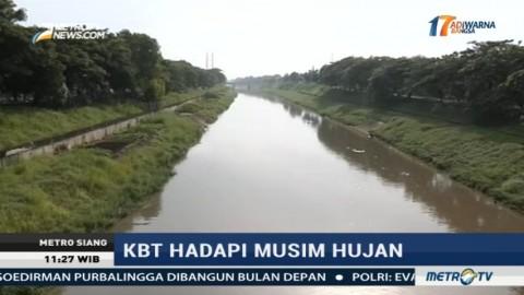Kanal Banjir Timur Siap Tampung Air Hujan