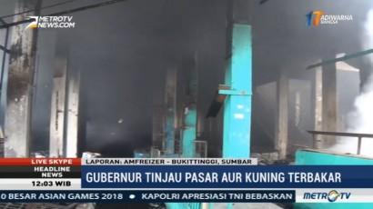 Kerugian Kebakaran Pasar Aur Kuning Bukittinggi Capai Rp82 Miliar