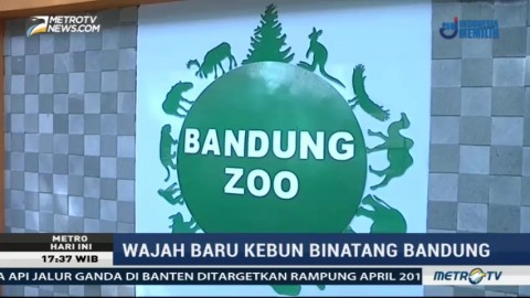 Wajah Baru Kebun Binatang Bandung