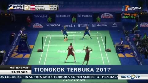 Duo Minions Melenggang ke Final Tiongkok Terbuka 2017