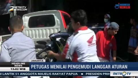 Pemilik Kendaraan Protes Razia Parkir Liar di Jakarta Pusat