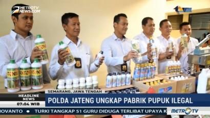 Polda Jateng Ungkap Praktik Pembuatan Pupuk Ilegal di Demak