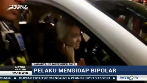 Penabrak Belasan Kendaraan di Sudirman Mengidap Bipolar