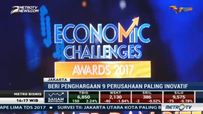 Economic Challenges Awards 2017 Beri Penghargaan 9 Perusahaan Paling Inovatif