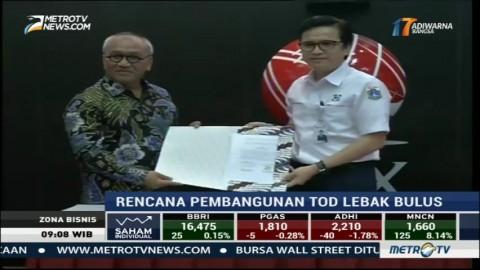 Totalindo-PD Pembangunan Sarana Jaya Garap TOD Lebak Bulus