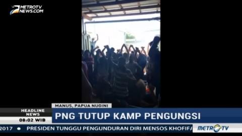 Papua Nugini Tutup Kamp Pengungsi di Pulau Manus