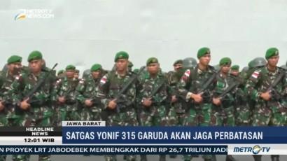 Kodam III Siliwangi Kirim 450 Prajurit Jaga Perbatasan RI-PNG