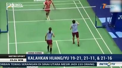 Dua Wakil Indonesia Melaju ke Semifinal Hong Kong Terbuka