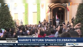 Hariri's Return to Lebanon Sparks Celebration
