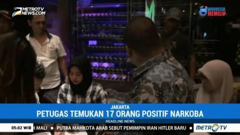 Razia Karaoke di Jakarta Utara, 17 Orang Positif Narkotika