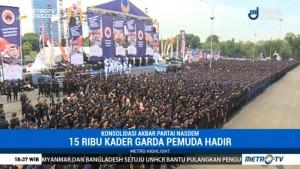 Konsolidasi Akbar Partai NasDem Jelang Tahun Politik