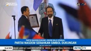 Partai NasDem Dukung Jokowi Maju di Pilpres 2019