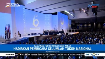 Rakernas, Forum Konsolidasi Akbar Partai NasDem