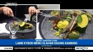 Lamb Kybob, Hidangan Unik yang Terinspirasi dari Pernikahan Kahiyang-Bobby
