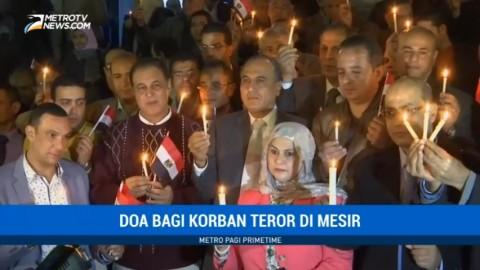 Ratusan Jurnalis dan Warga di Kairo Gelar Doa Bersama