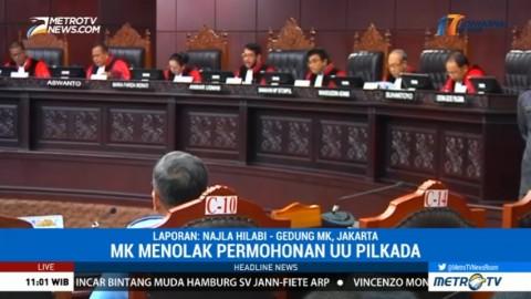MK Gelar Sidang Putusan Uji Materi UU Pilkada