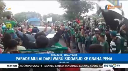 Parade Pesta Juara Persebaya Surabaya