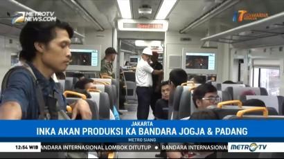 PT INKA Siap Ekspor Kereta Penumpang ke Bangladesh