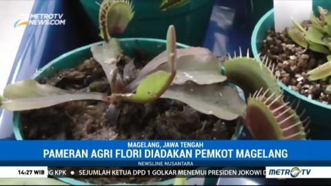 Tanaman Karnivora Curi Perhatian di Pameran Agri Flori