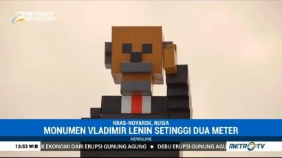 Monumen Vladimir Lenin Terinspirasi Minecraft Hadir di Rusia