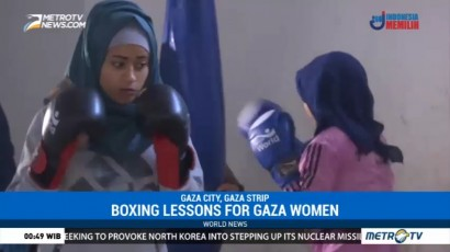 Boxing Lessons for Gaza Women