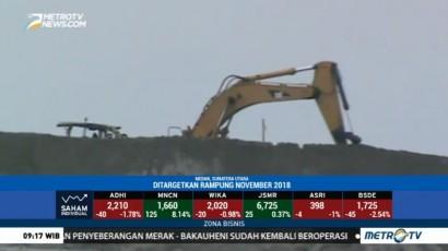 Perluasan Dermaga Pelabuhan Belawan Ditargetkan Rampung Akhir 2018