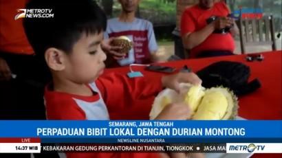 Mencicipi Lezatnya Durian Monti di Semarang