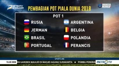Pembagian Pot Piala Dunia 2018