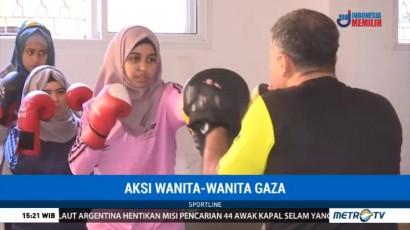 Puluhan Wanita di Gaza Rutin Berlatih Tinju